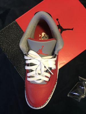 Jordan retro 3 size: 8 1/2 for Sale in Union City, CA
