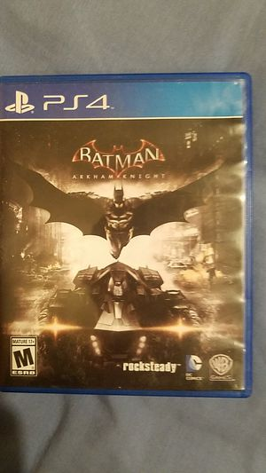 Batman arkam knight ps4 game for Sale in Downey, CA