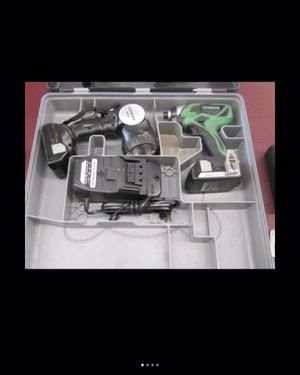 18V LITHIUM 2 PC CORDLESS SET IMPACT DRIVER AND FLASHLIGHT HITACHI for Sale in Columbus, OH