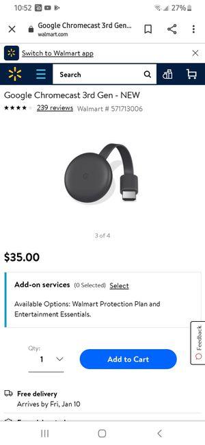 Chromecast for Sale in Glendale, AZ