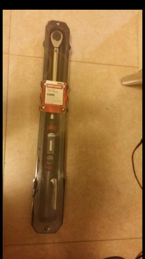 Craftsman 1/2 digital torque wrench brand new for Sale in Miami, FL