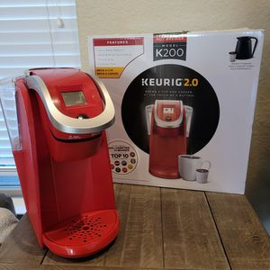 K200 Keurig Coffee Maker 2.0 for Sale in San Antonio, TX