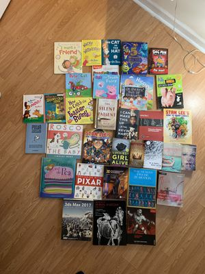 FREE Assortment of textbooks and children's books for Sale in Staten Island, NY