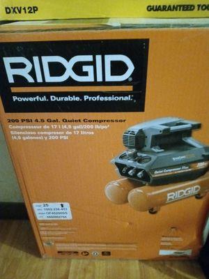 RIDGID air compressor for Sale in Aurora, IL