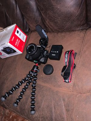 Canon 80d Vlog Setup for Sale in Bell Gardens, CA
