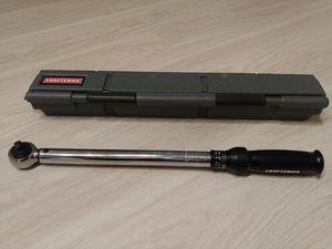 Craftsman torque wrench for Sale in Hyattsville, MD