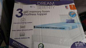 Memory Foam Full Mattress Topper for Sale in Columbus, OH