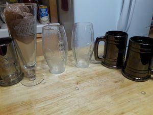 6 beer glasses for Sale in Phoenix, AZ