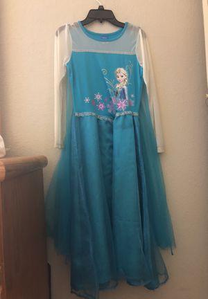 Elsa frozen party dress, Halloween costume for Sale in Fremont, CA