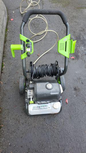 Green works 2000 psi pressure washer for Sale in Everett, WA