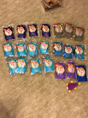 TY Beanie Babies 21 in packages for Sale in Sterling Heights, MI
