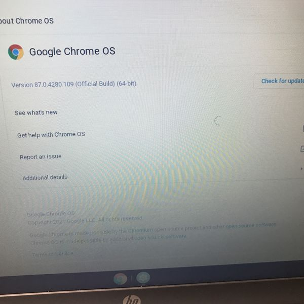 HP Chromebook Laptop (Great Condition)