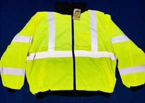 Type R Class 3 Yellow Fleece Bomber Jacket for Sale in Mount Rainier, MD