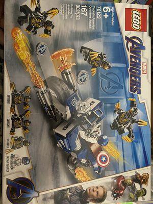 LEGO avengers 76123 captain America for Sale in North Las Vegas, NV