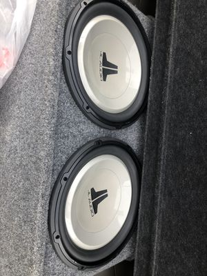 2 -13 inches JL Audio and 450 watts monoblock alpine amplifier for Sale in Beaverton, OR