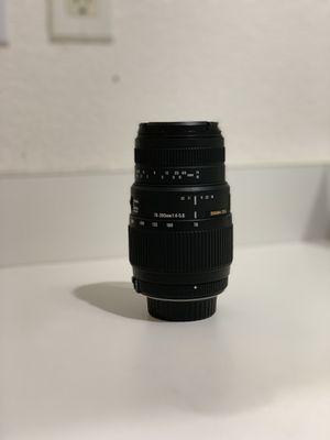 Sigma DG 70-300mm for Nikon for Sale in North Las Vegas, NV