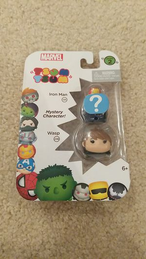 Tsum Tsum Marvel 3-Pack: Wasp/Hidden/Iron-Man Toy Figure for Sale in Sacramento, CA