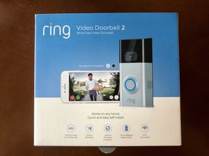 Ring Video Doorbell 2- Wire free- Excellent Condition for Sale in Farmers Branch, TX