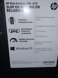 HP Slim Desktop 1TB HDD for Sale in Pasco,  WA
