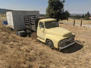 1955 Ford Truck - 1-1/2 ton with 1938 Ford flatbed for Sale in Yucaipa, CA