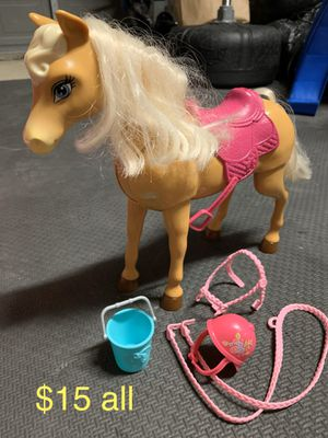 Barbie Horse & Accessories for Sale in Lewisville, TX
