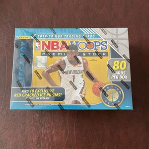 2020 NBA Hoops Premium Stock Basketball Trading Card Mega Box (Multiple Available!) for Sale in Raleigh, NC