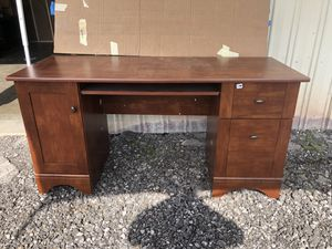 Wood desk for Sale in Newark, OH