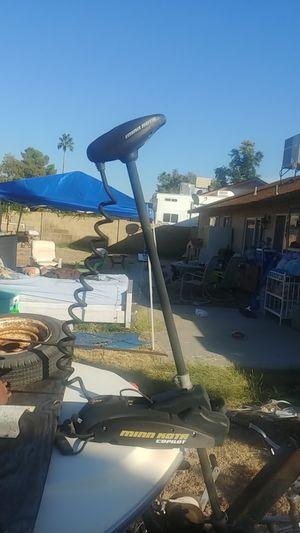 Minn kota trolling motor w/ battery for Sale in Phoenix, AZ