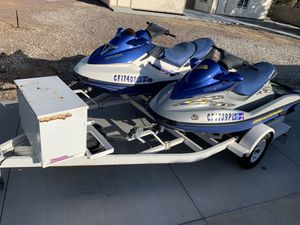 Two 2002 Sea Doos with Trailer for Sale in Apple Valley, CA