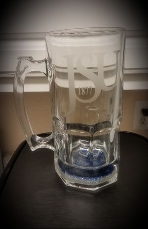 Jackson State etched mug for Sale in Houston, TX