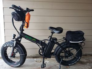 Green bike gb1 fat tire for Sale in Houston, TX