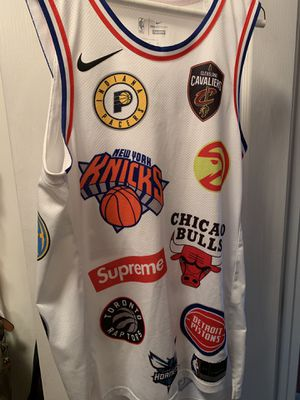 Supreme x Nike x NBA Basketball Jersey for Sale in Alexandria, VA