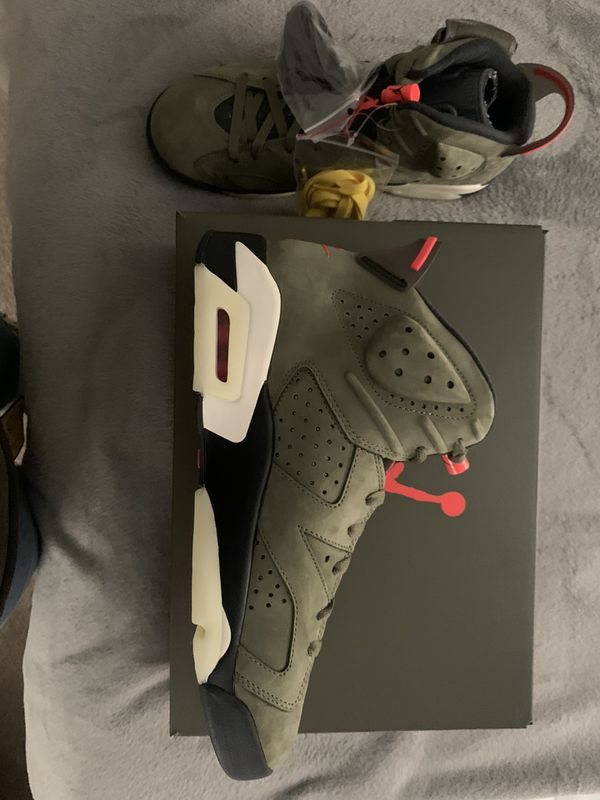 Air Jordan 6 Retro SP x Travis Scott - 10.5