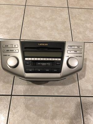 2006 Lexus RX400H Radio 6 CD Player OEM for Sale in Garden Grove, CA