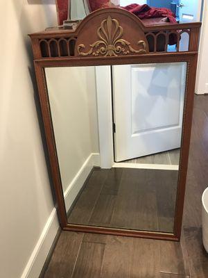 Antique Kindel mirror for Sale in Gaithersburg, MD