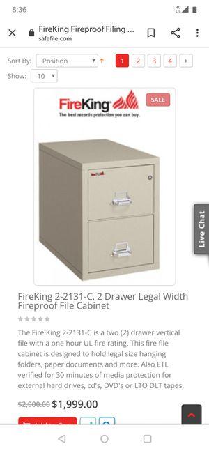 New FireKing25 File Cabinet for Sale in Denver, CO