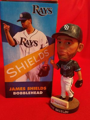 TB Rays James Shields Bobblehead for Sale in St. Petersburg, FL
