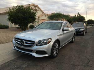 C300 Mercedes Benz 2016 C 300 silver for Sale in Phoenix, AZ