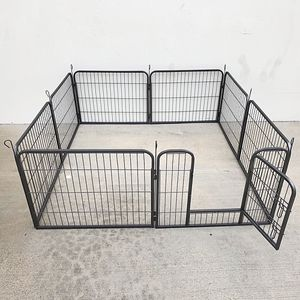 """New $70 Heavy Duty 24"""" Tall x 32"""" Wide x 8-Panel Pet Playpen Dog Crate Kennel Exercise Cage Fence Play Pen for Sale in La Mirada, CA"""
