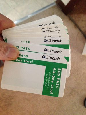 Full day bus pass cttransit for Sale in Manchester, CT