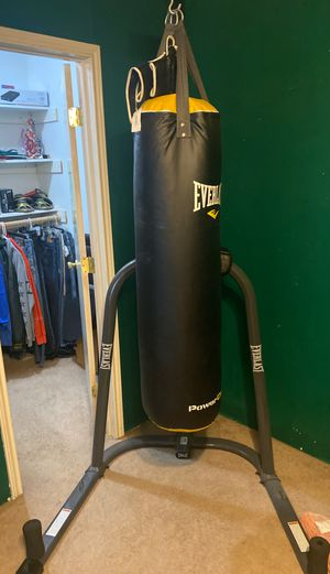 Everlast bag and stand, speed bag attachment for Sale in Cypress, TX