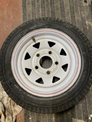 Trailer tire 5 lug for Sale in Oceanside, CA