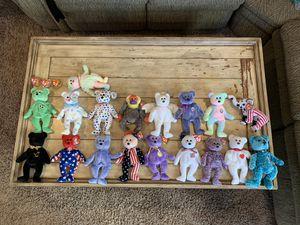 Beanie babies bundle lot of 17 plush beanie babies for Sale in Corona, CA