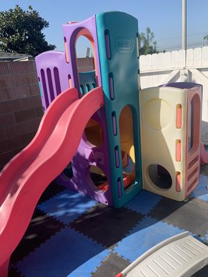 Little Tikes: 8 in 1 playground Slide for Sale in Garden Grove, CA