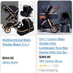 3 In 1 Stroller Combo BRAND NEW! for Sale in Hayward,  CA