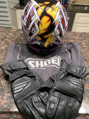 Shoei motorcycle helmet medium for Sale in Novi, MI