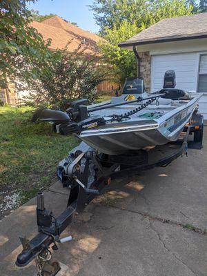 1995 Bass Tracker 17 ft aluminum Pro team 17 boat for Sale in Lancaster, TX