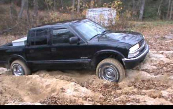 2001 chevy S10 4x4 cuad cab
