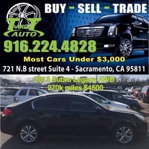 2013 Subaru Legacy AWD for Sale in Sacremento, CA