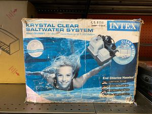 Intex saltwater system works for Sale in Stockton, CA